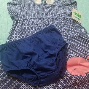 Carter's Child of Mine Dress and Diaper Cover